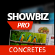 Showbiz Pro Wrażliwa Teaser Concrete5 Add- On - WorldWideScripts.net Item na sprzedaż