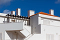 White Resort Apartment House in Portugal - PhotoDune Item for Sale