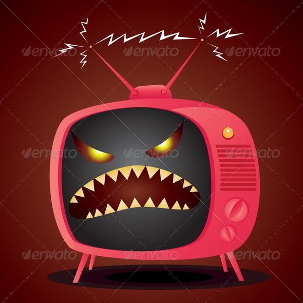 GraphicRiver Bad TV 4793540