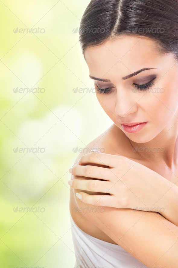 Naturally beautiful skin - Stock Photo - Images