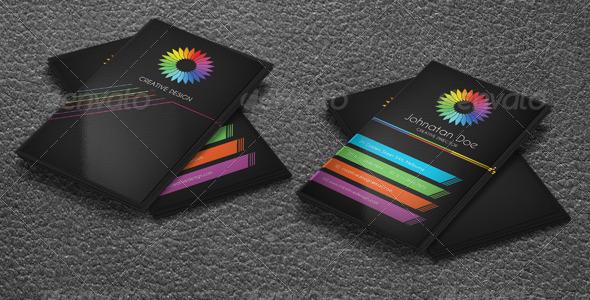 GraphicRiver Creative Design Business Card 4794281