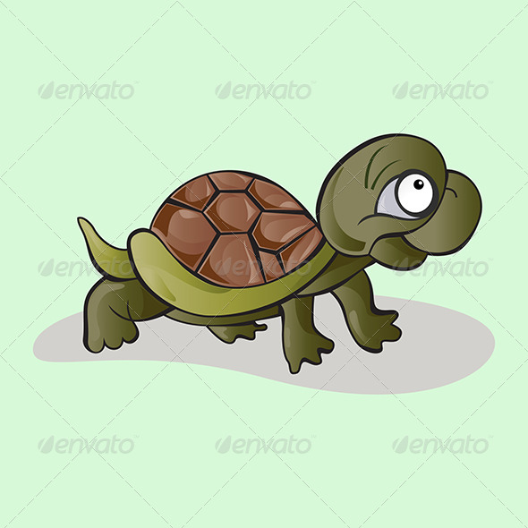 GraphicRiver Kid Tortoise 4794325