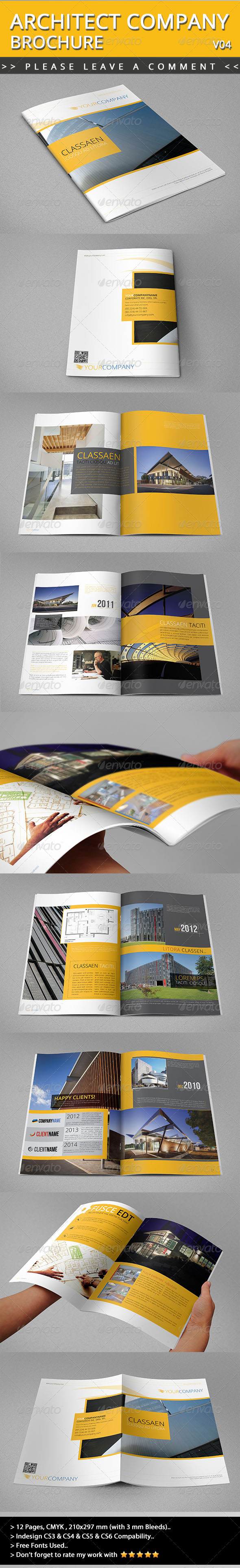 GraphicRiver Architect Brochure V04 4723814