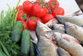 fish and vegetables - PhotoDune Item for Sale