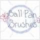 Ball Pen Brushes (Vector) - GraphicRiver Item for Sale