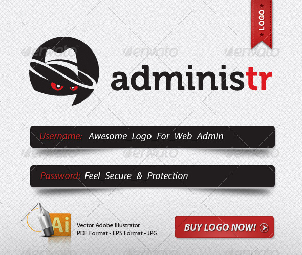 GraphicRiver SECURE ADMIN LOGO 500338
