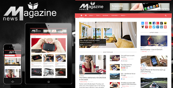 ThemeForest Magazinly 4792747