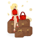 Girl Traveler - GraphicRiver Item for Sale