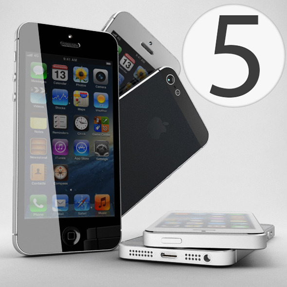 3DOcean Apple iPhone 5 4797577