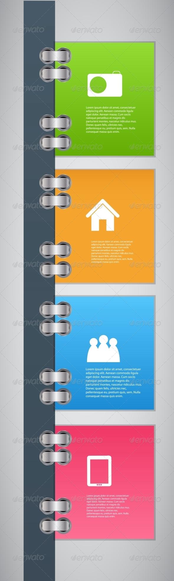 GraphicRiver Infographic Template Design Vector Illustration 4797597