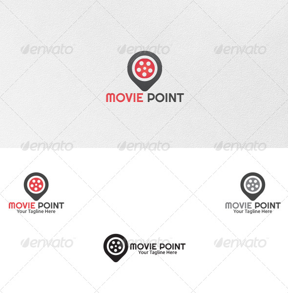 GraphicRiver Movie Point Logo Template 4797632