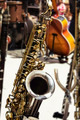 Saxophone on Stage - PhotoDune Item for Sale
