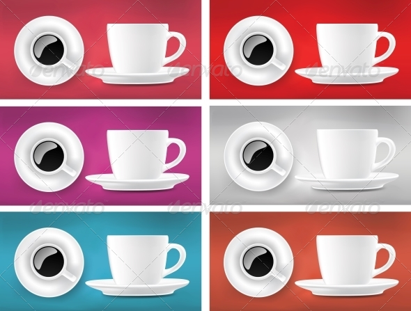 GraphicRiver Coffee Cups 4799466