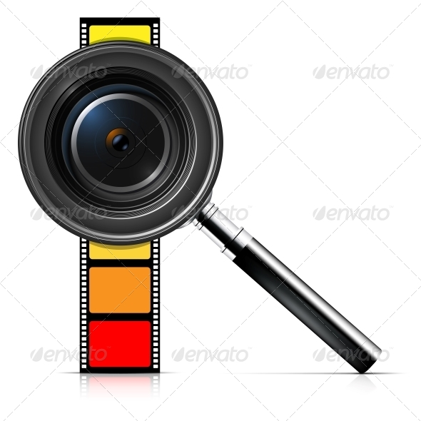 GraphicRiver Camera Lens and Film 4799495