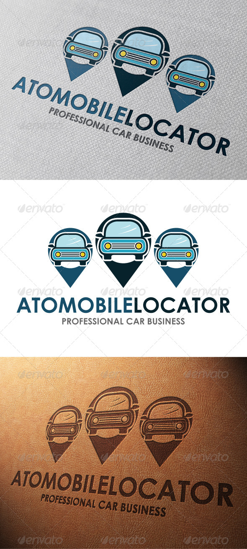 GraphicRiver Car Locator Logo Template 4801411
