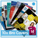 10 x Brochure Newsletter Report Covers - GraphicRiver Item for Sale