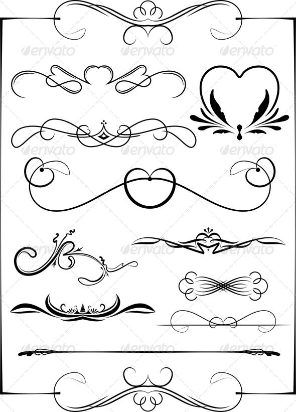 GraphicRiver Set of 7 Frames 4803190