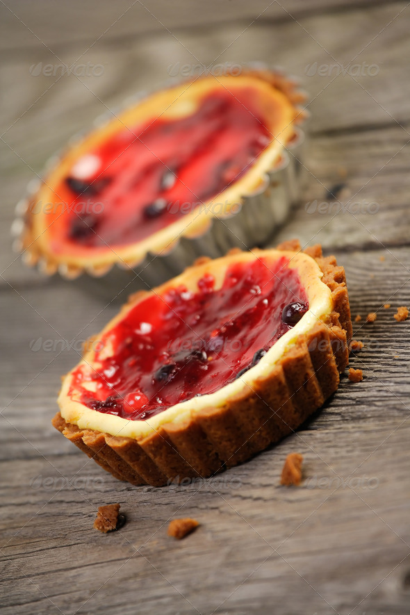 Mini cheesecake - Stock Photo - Images
