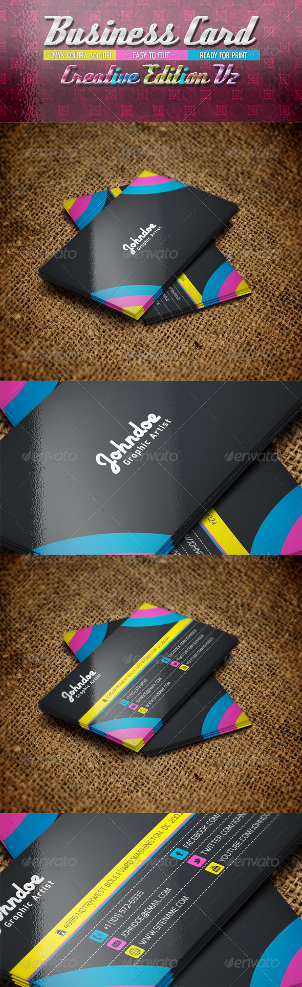 GraphicRiver Business Card Creative Edition V2 4803641