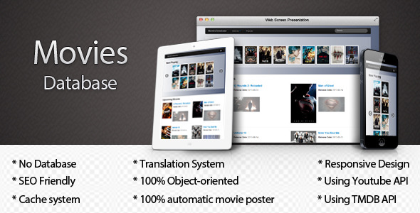 CodeCanyon Movies Database 4803835
