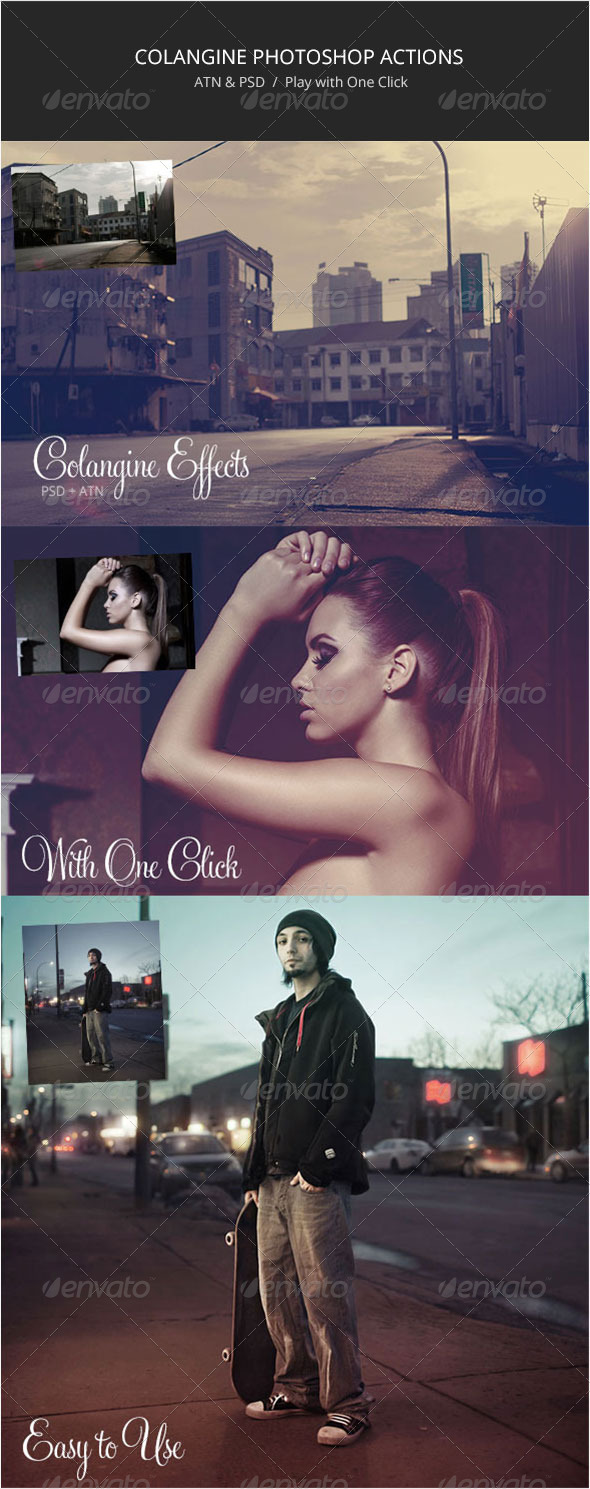 Colangine Effects - Photo Effects Actions