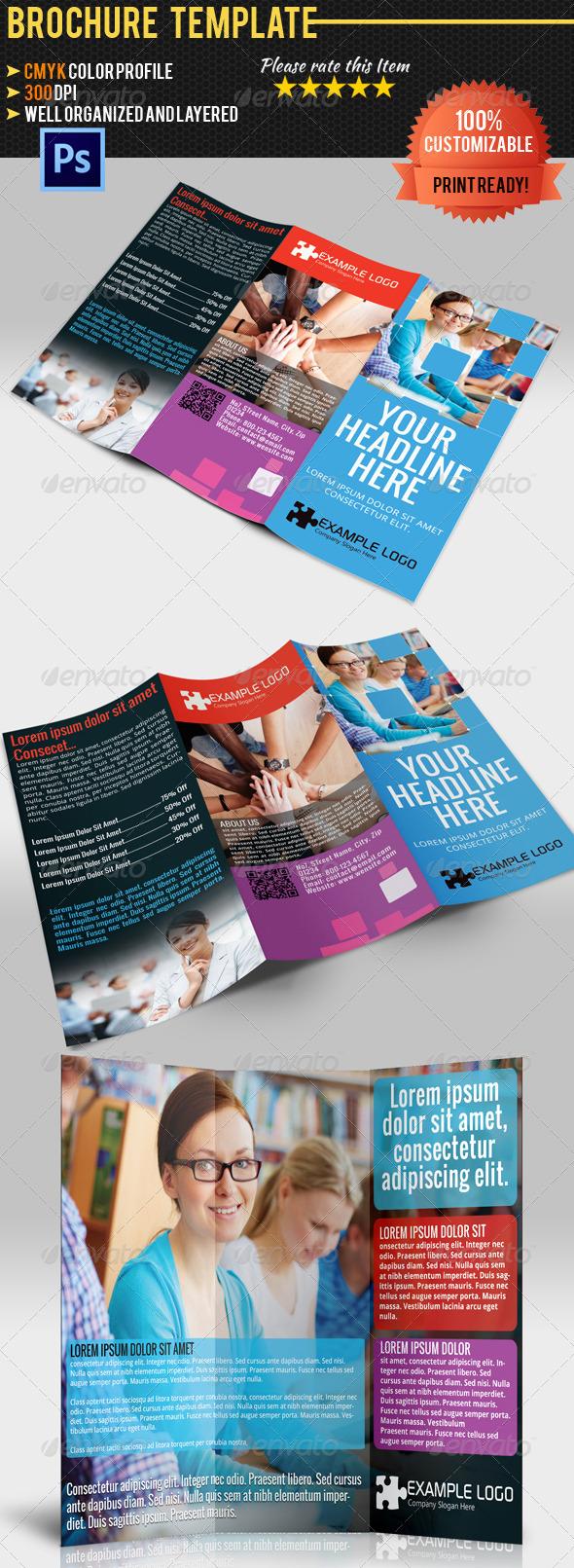 GraphicRiver Multipurpose Tri-Fold Brochure Vol.1 4734426