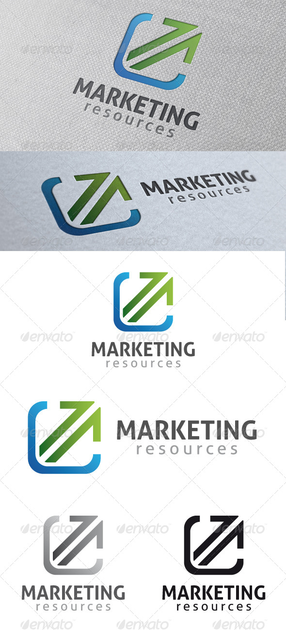 GraphicRiver Marketing Logo Template 4806695