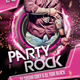 Party Rock Flyer Template - GraphicRiver Item for Sale