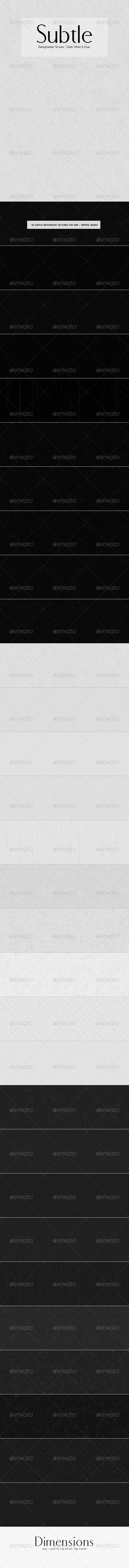 GraphicRiver Subtle Backgrounds Texture Dark White & Gray 4748121