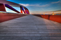 Valletta Breakwater Bridge at dusk - PhotoDune Item for Sale