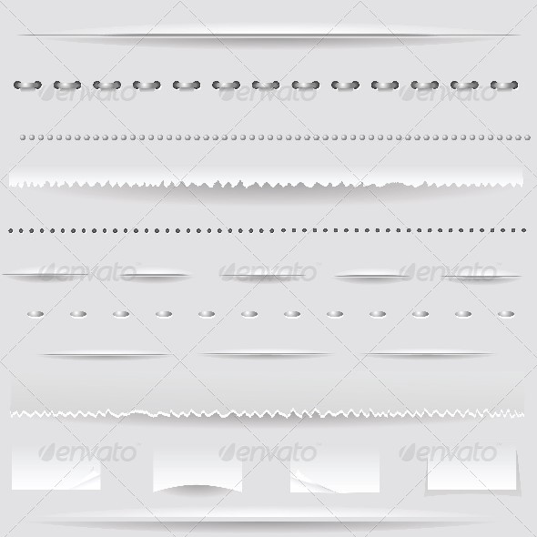 GraphicRiver Set of Dividers 4808404