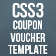 CSS3 Coupon Voucher Template - CodeCanyon Item for Sale