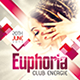Euphoria Nightclub/Party Flyer - GraphicRiver Item for Sale