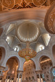 Inside the main dome at the Sheikh Zayed Grand Mosque - PhotoDune Item for Sale