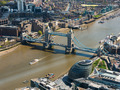 Tower Bridge and London City Hall aerial view - PhotoDune Item for Sale