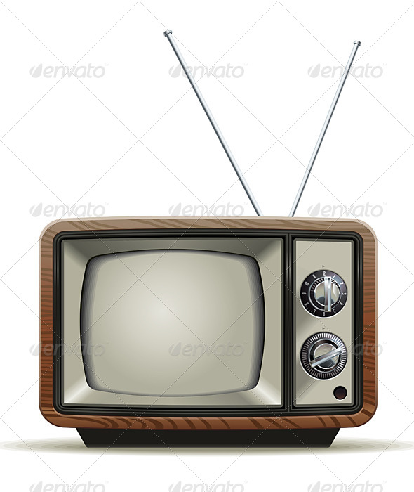 Old TV - Media Technology