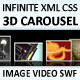Infinite 3D Image and Media Carousel - ActiveDen Item for Sale