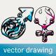 Hand Drawn Vector Illustration  - Gender Sign - GraphicRiver Item for Sale