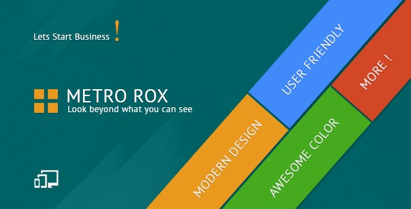 Metro Rox WordPress Theme - Creative WordPress