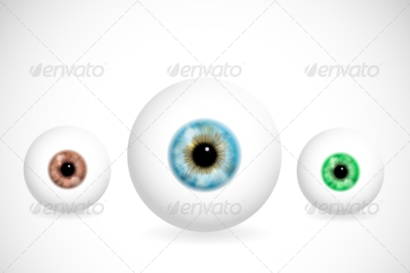 GraphicRiver Eyes of Different Colors 4817428