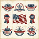 Vintage American Labels Set - GraphicRiver Item for Sale