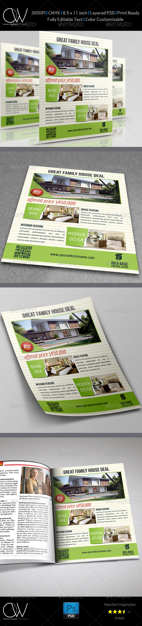GraphicRiver Real Estate Flyer Vol.6 4731312