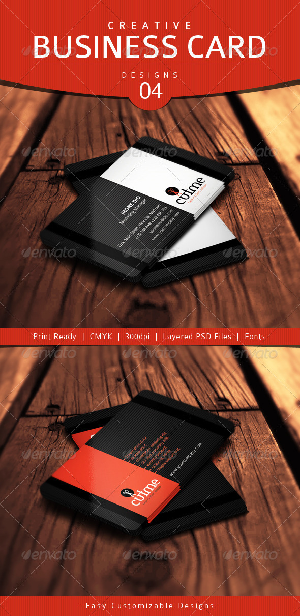 GraphicRiver Creative Business Card Design 04 4754029
