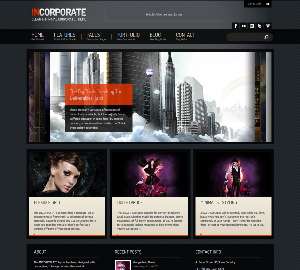 Incorporate WordPress Template - Home Page With Kwicks Accordion Slider