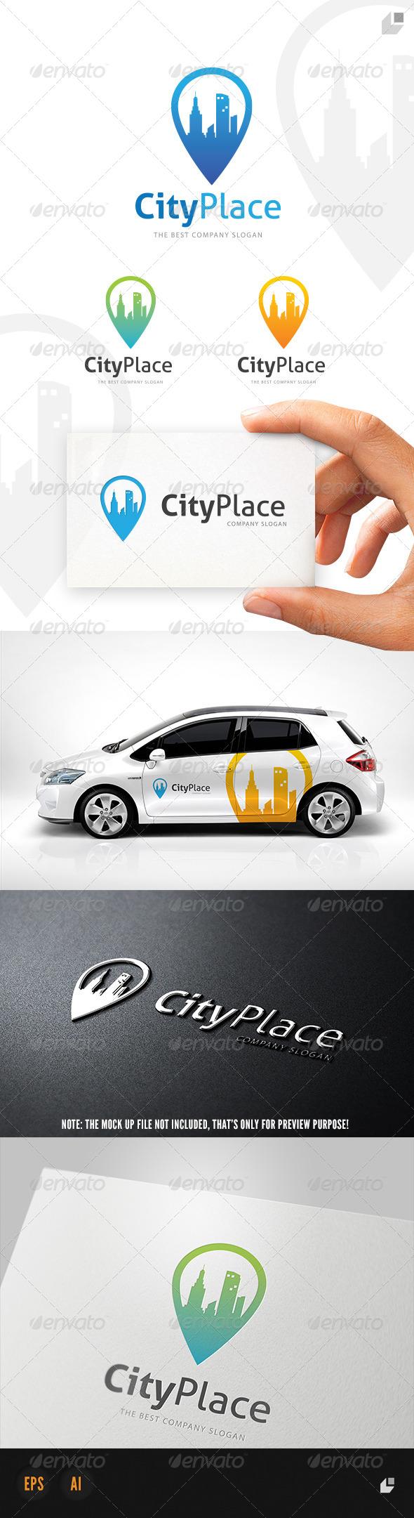 GraphicRiver City Place Logo 4808650