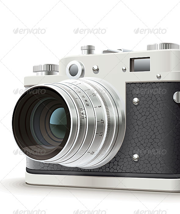 GraphicRiver Old Photo Camera 4819491