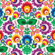 Seamless Traditional Floral Polish Pattern - GraphicRiver Item for Sale