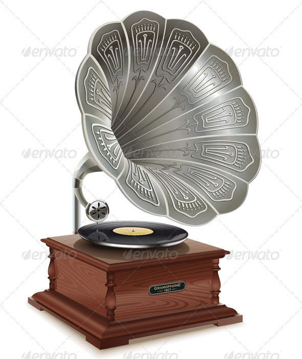 Old Gramophone - Retro Technology