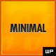Minimal - WordPress Blogging Theme - ThemeForest Item for Sale