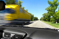 Blurred on the speed of the movement of trucks on the road - PhotoDune Item for Sale